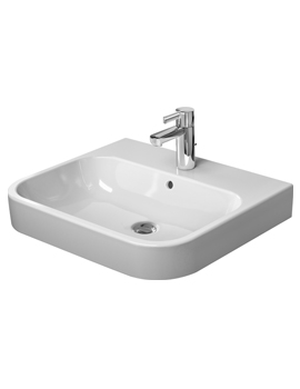 Happy D.2 Furniture White Washbasin