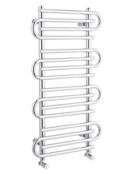 Finesse 900 x 510mm Chrome Designer Radiator