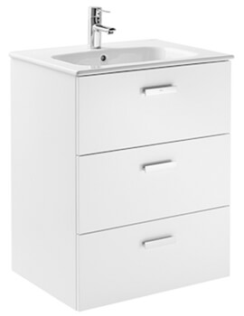 Victoria Unik Wall Hung Vanity Unit With 3 Drawers