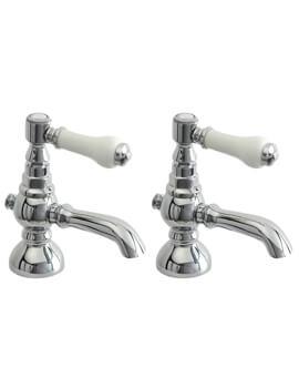 YO Series Pair Of Basin Tap Chrome - YO001