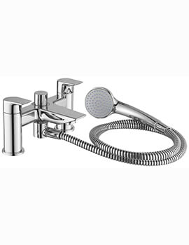 Tesi 2 Hole Dual Control Bath Shower Mixer Tap And Kit