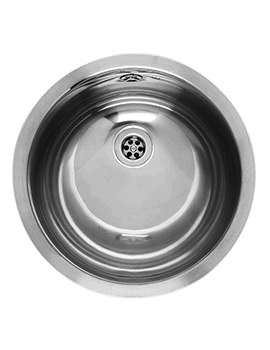 Amazone Stainless Steel Integrated Sink With Overflow