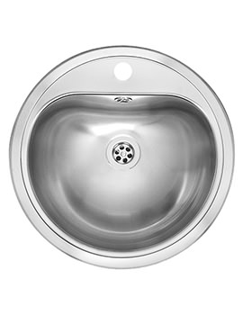 Atlantis Stainless Steel Inset Sink With Overflow