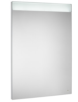 Prisma Confort 600mm Mirror With Upper And Lower LED Lighting