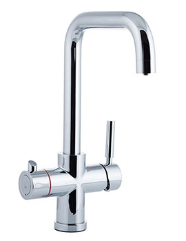 Reginox Amanzi 3-In-1 Instant Hot Water Kitchen Mixer Tap - Image