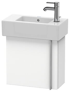 Vero 450mm Wall-mounted Vanity Unit With Basin