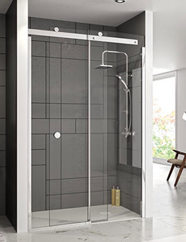 Merlyn 10 Series 1500mm Sliding Shower Door Left Hand