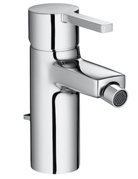 Naia Bidet Mixer Tap With Pop Up Waste