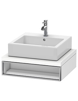 Vero Air 518mm Depth 1 Open Compartment Vanity Unit For Console