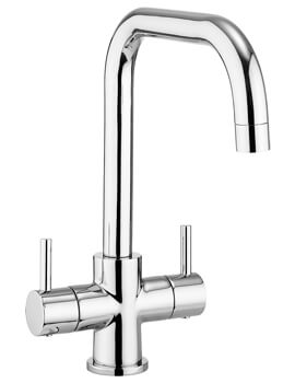 Design Dual Lever Kitchen Mixer Tap