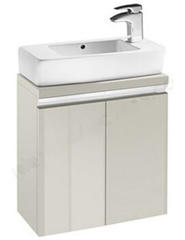 H And H 510mm Vanity Unit With Double Door