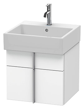 Vero Air 1 Drawer and 1 Pull-Out Compartment Wall-mounted Vanity Unit With Basin