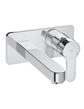 Roca L20 Wall Mounted Basin Mixer Tap