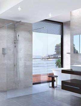 Aqata Spectra Double Entry Walk-In Shower Screen
