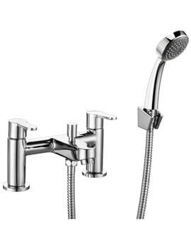 Ethos Bath Shower Mixer Tap With Shower Kit