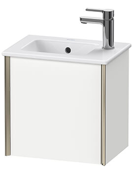 XViu 1 Door 410mm Wall-mounted Vanity Unit With ME By Starck Basin