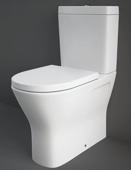 Resort Comfort Height Close Coupled Back To Wall WC