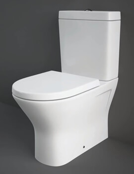 Resort Comfort Mini Height Close Coupled Back To Wall WC