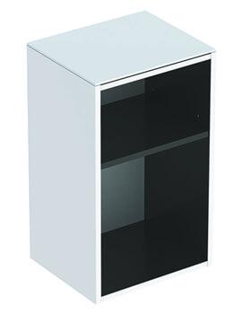 Smyle Square Open Shelves Short Projection Low Cabinet
