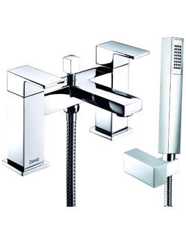 Savvi MK2 Deck Mounted Bath Shower Mixer Tap