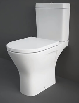 Rak Resort Mini Close Couple Wc Pan With Soft Close Seat