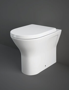 Rak Resort Back to Wall WC Pan With Soft Close Seat