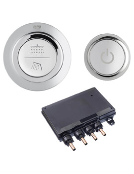 Mode Dual Digital Shower Valve And Controller