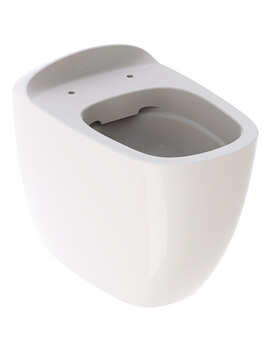 Citterio 360 x 560mm Rimless Back To Wall WC Pan Shrouded