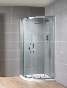Aquadart Venturi 8 Double Door Shower Quadrant