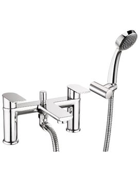 Deva Zonos Deck Mounted Bath Shower Mixer Tap