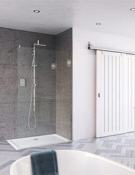 Design DS400 400mm Wide Shower Screen For Recess