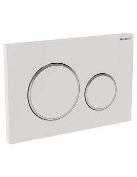 Sigma20 Plastic Dual Flush Plate 246 x 164mm