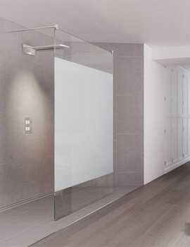 Design DS440 Double Entry Walk-In Shower Screen 100