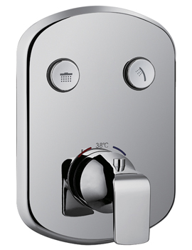 Fusion Goclick Concealed Thermostatic Shower Mixer Valve