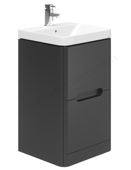 Essential Colorado Two Drawer 500mm Floor Standing Unit And Basin