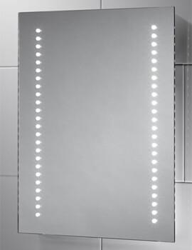 Sensio Isla 390 x 500mm Battery Powered LED Mirror