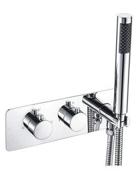 Niagara Equate Thermostatic Horizontal Triple Shower Valve With Kit