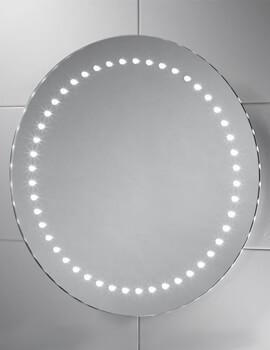 Sensio Orla 500mm Round LED Mirror