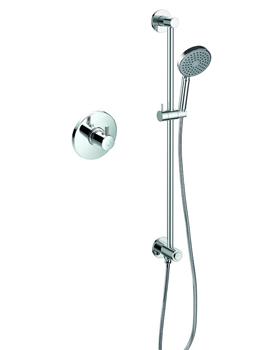 Levo Thermostatic Shower Set With GoClick On Or Off Control