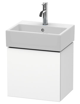 L-Cube 434mm Wall Mounted Vanity Unit For Vero Air Basin
