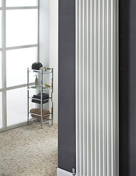 Chiara Vertical 2 Column 1500mm High Tubular Radiator