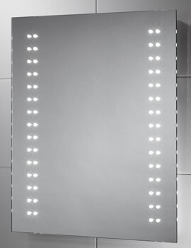 Sensio Skye Slimline 500 x 600mm LED Mirror