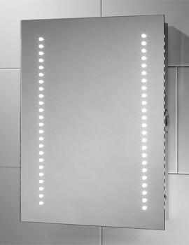 Sensio Sienna 390 x 500mm Compact LED Mirror
