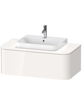 Happy D.2 Plus 1000 x 550mm Vanity Unit For Console With 1 Pull-Out Compartment
