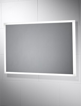 Sensio Glimmer Dimmable Mirror With Diffused LED Border