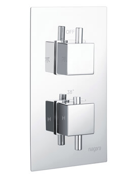 Niagara Observa Concealed Thermostatic Shower Valve Square