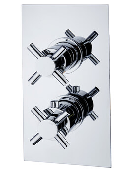 Niagara Carter Thermostatic Concealed Shower Valve Crosshead
