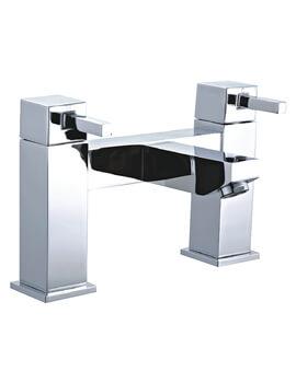 Niagara Finsbury Chrome Deck Mounted Bath Filler Tap