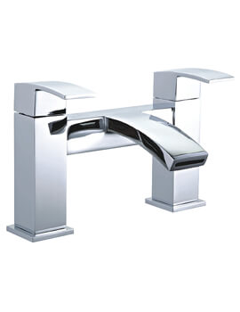 Niagara Pimlico Dual Handle Deck Mounted Bath Filler Tap