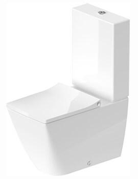 Viu 350 x 650mm Close Coupled Rimless WC Pan